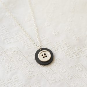 Large Button Necklace