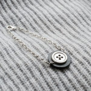 Large Button Bracelet