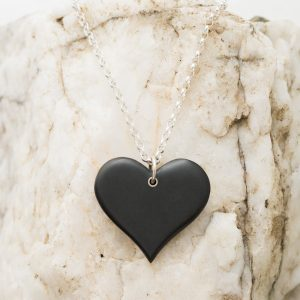 Straight Heart Necklace