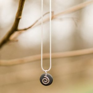 Small Twirl Necklace