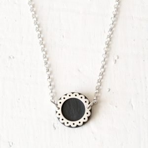 Lace Circle Necklace