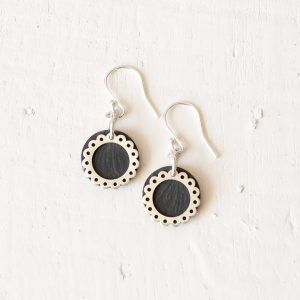 Lace Circles Earrings